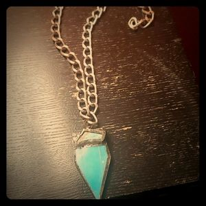 A beautiful turquoise necklace